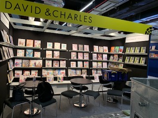 David and Charles at the Frankfurt Book Fair