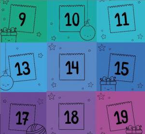 kawaii advent calendar