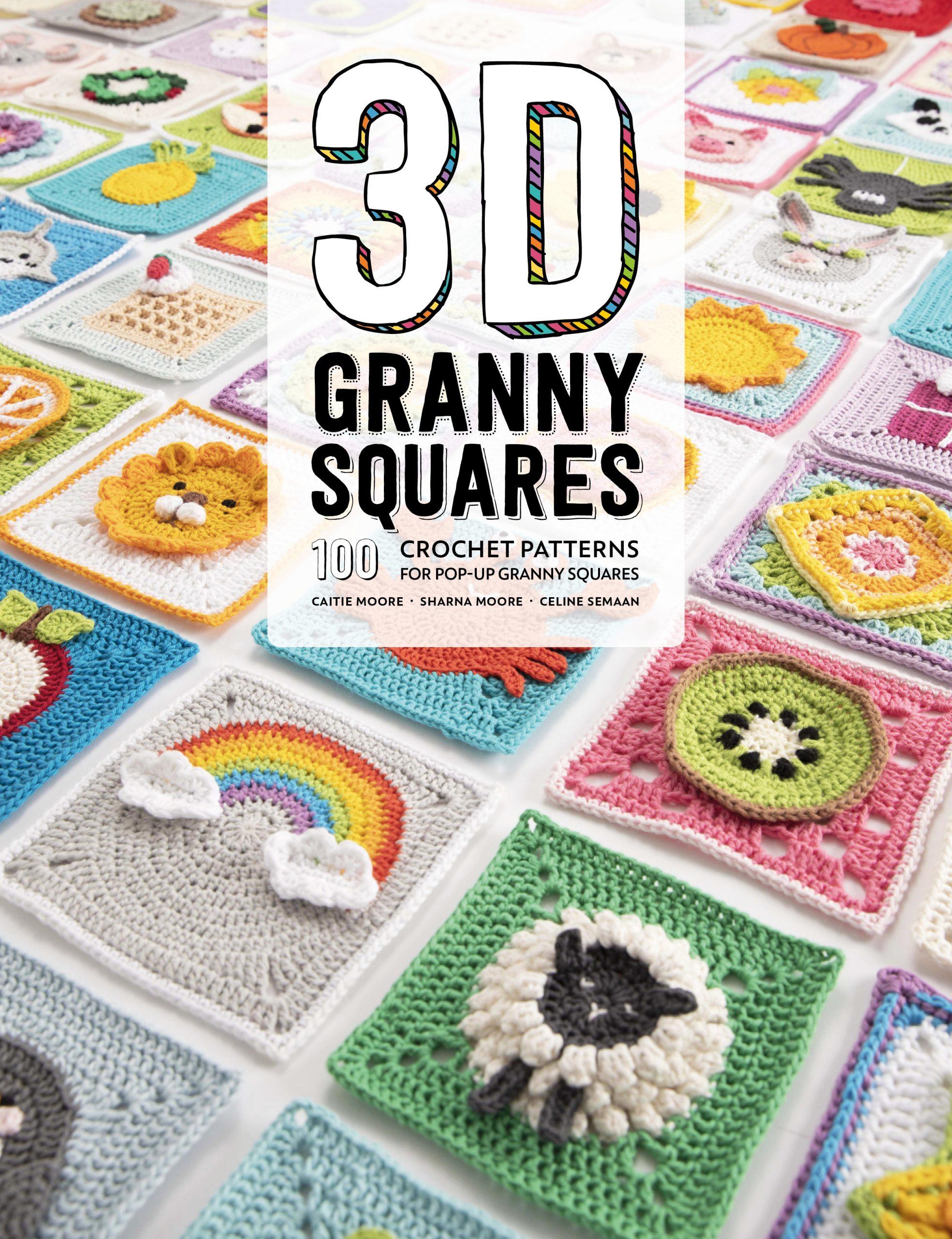 3D Granny Squares Book