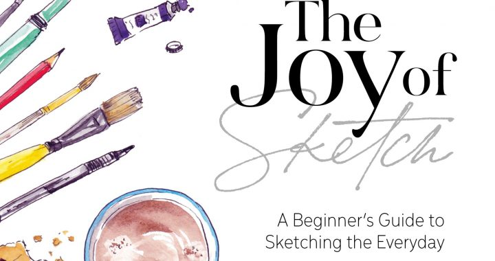 The front cover of The Joy of Sketch