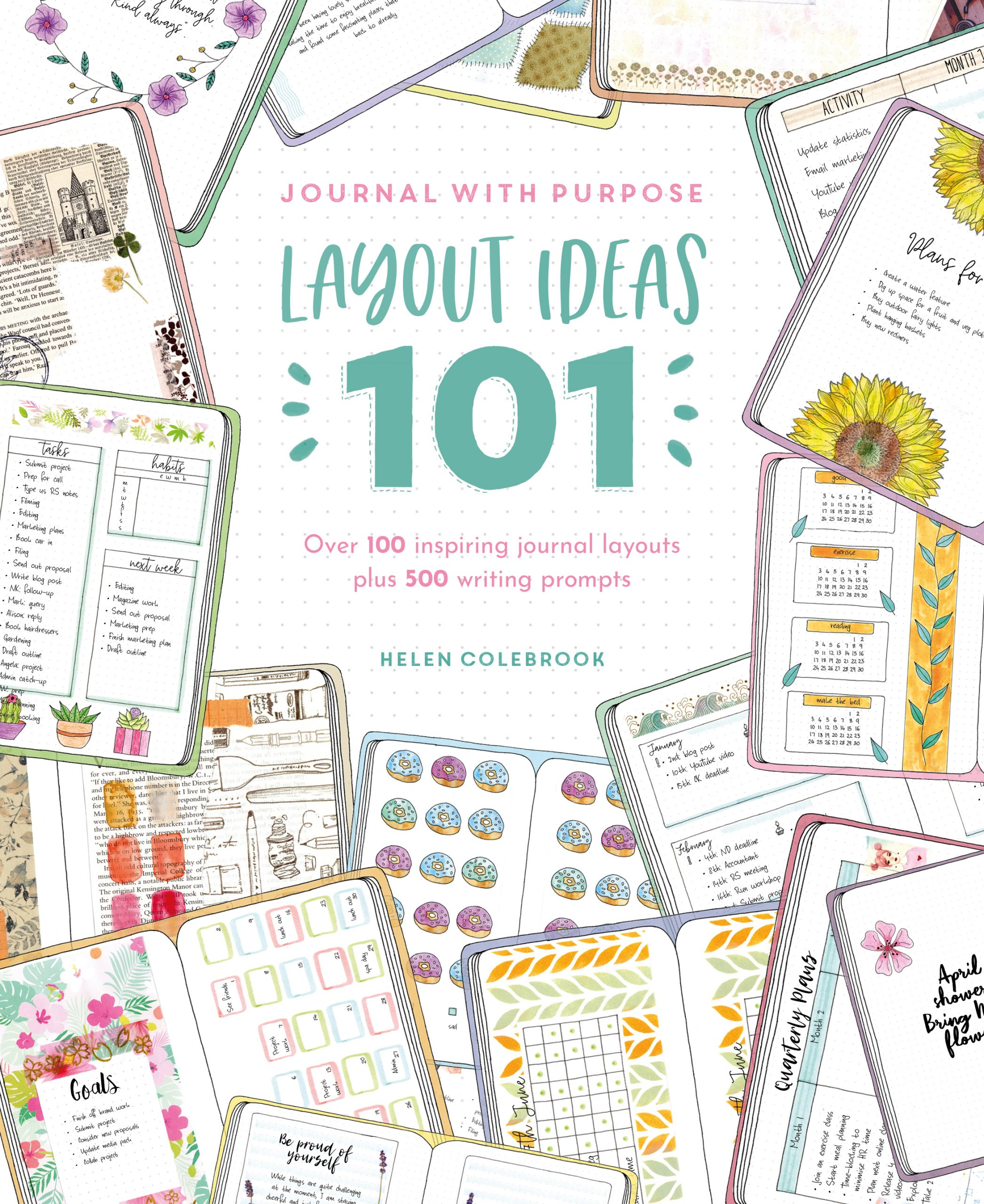 101 Journal Layout ideas - Journal with purpose