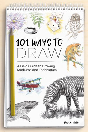 100 Ways to Draw - book for art and sketching