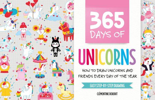 365 days of unicorns book