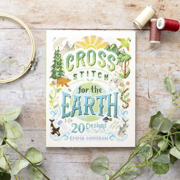 Cross stich for the earth