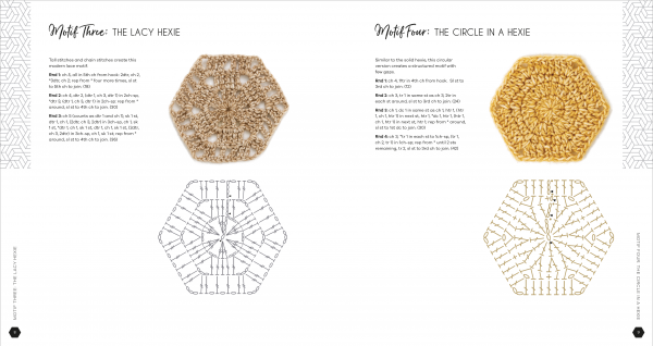 Hello Hexie Crochet Book