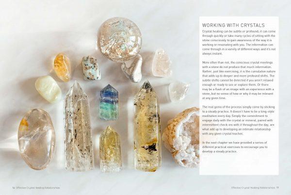Mood Crystals Book contents