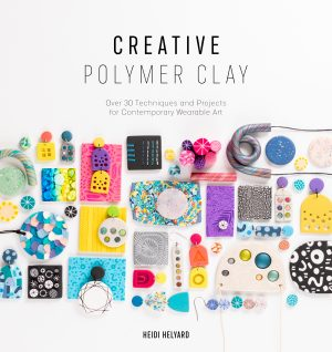 Creative Polymer Clay Front Cover Book