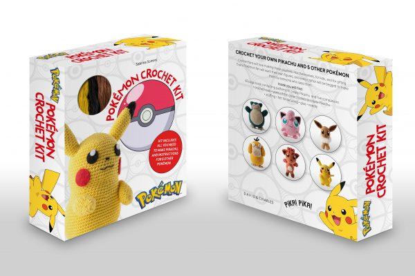 crochet pokemon book kit