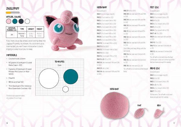 crochet pokemon kit book sabrina somers