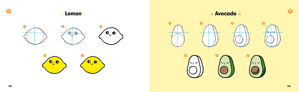 Kawaii Drawing guides