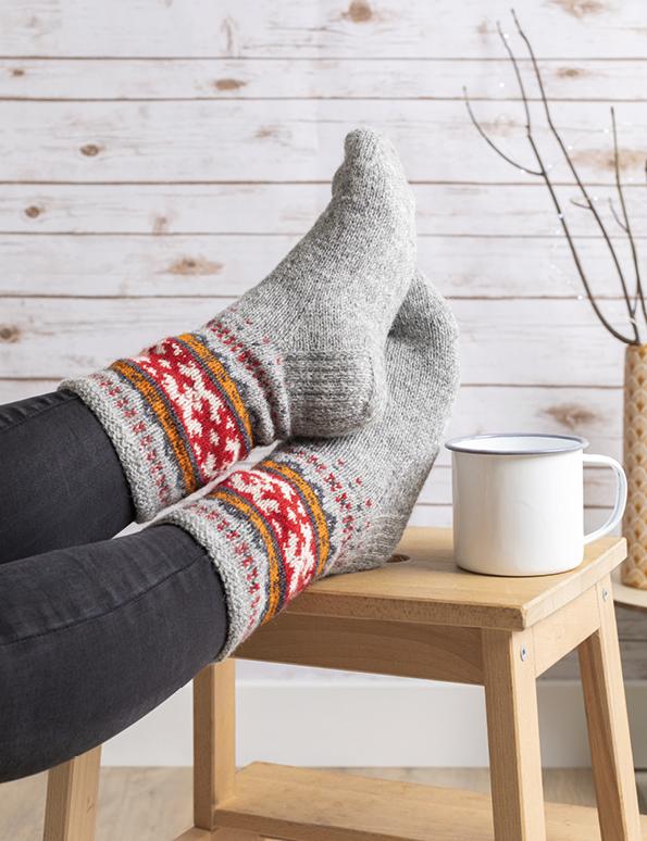 Knit like a Latvian Sock Pattern